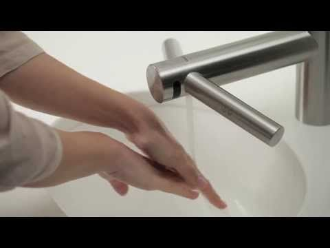 Dyson Airblade Tap Hand Dryer In Use  Official Dyson Video   YouTube