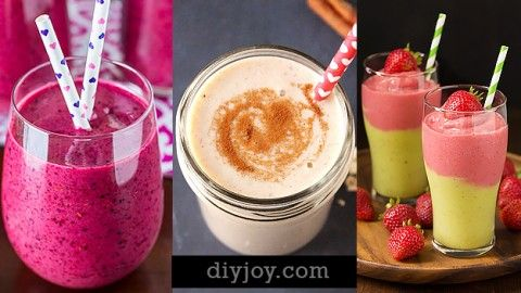 Healthy Smoothie Recipes | DIY Joy Projects and Crafts Ideas