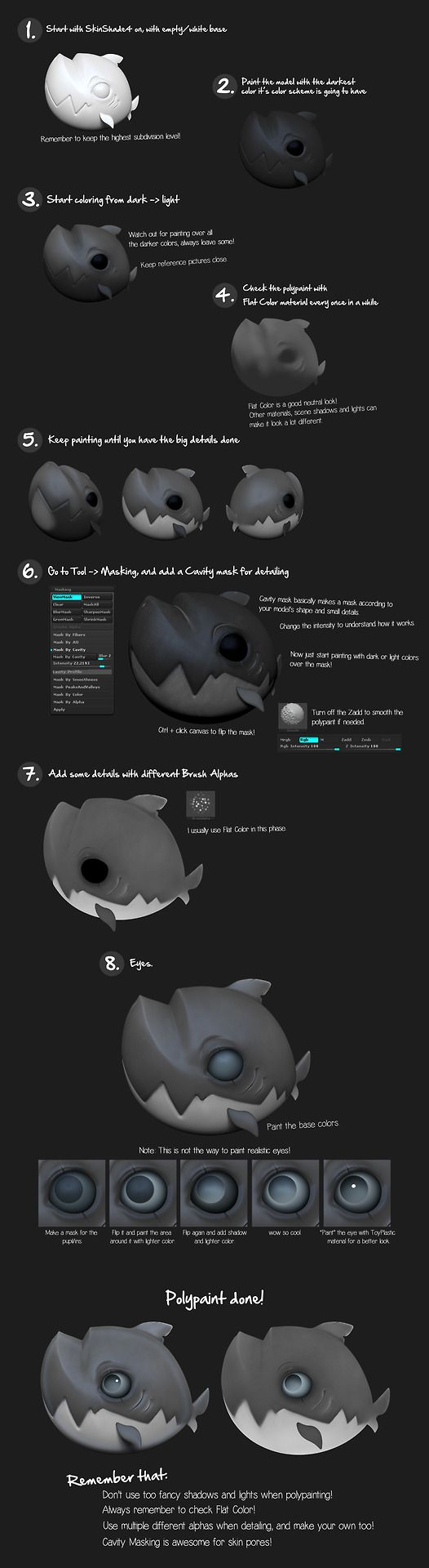 Zbrush polypaint tutorial