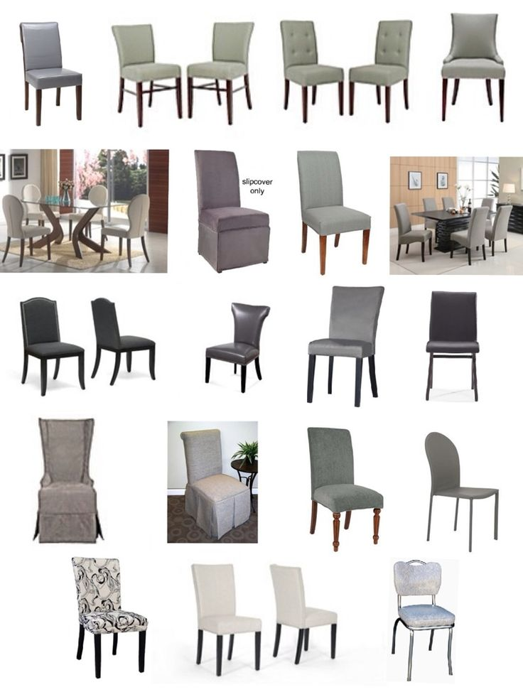 Grey Dining Chairs And Chair Slipcovers UpholsterEase