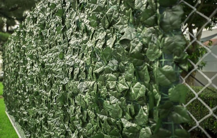 "39"" tall X 117"" long Artificial Faux Ivy Leaf Privacy Fence Screen Panels - $35.00"