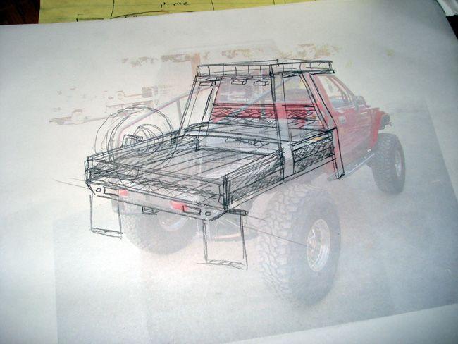 Lifted Dodge Custom Dakota