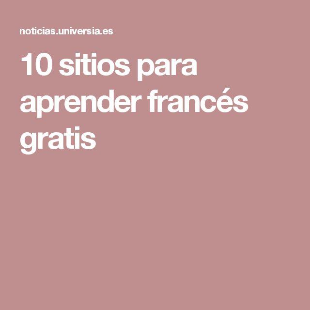 10 sitios para aprender francés gratis