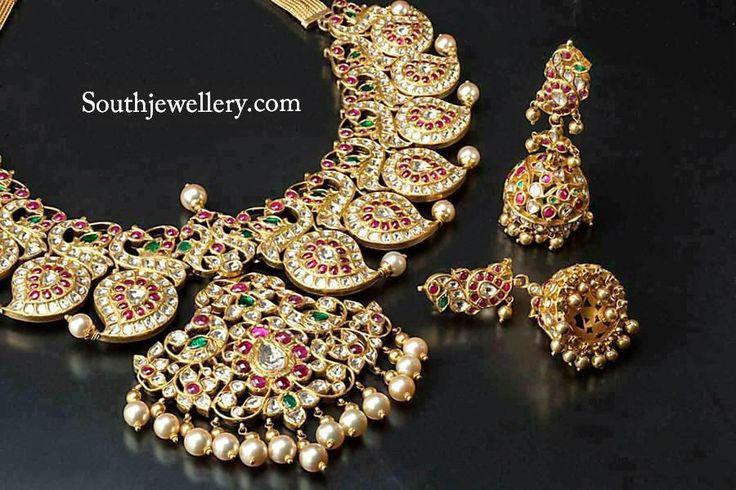 South Jewellery: Striking Mango Necklace