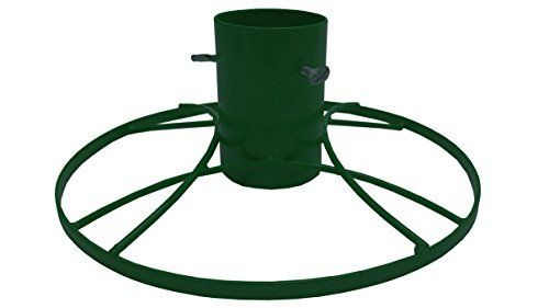 Bosmere 4Inch Contemporary Christmas Tree Stand With Green Sparkle *** Check out this great product.