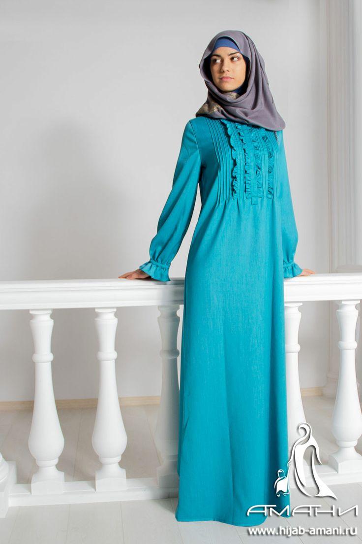 Ajsel-classik turquoise dress -price 81$ Cloth Suit Платье Айсель классик бирюзовое - цена 2800 руб Ткань-костюмная