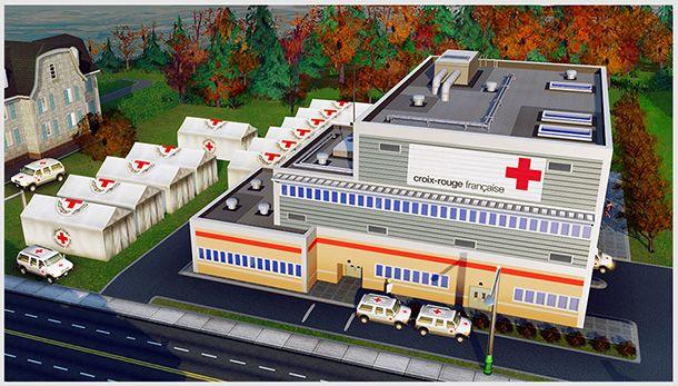 """""""Serious games"""": dirigez vous-même un centre de la Croix-Rouge dans SimCity"""