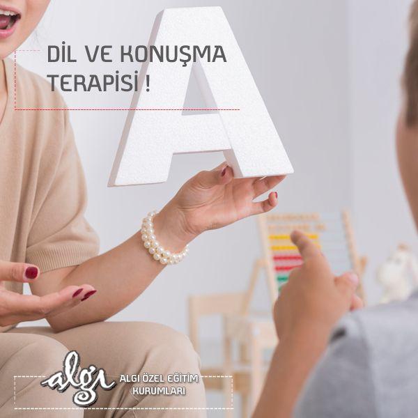 Dil ve konuşma terapisi dil ve/veya konuşma bozukluğu olan birçok çocuk için uygulanan tedavi yöntemidir. Eğer çocuğunuzda; Dudak-damak yarıklığı, Ağız etrafındaki zayıf kaslar, Kekemelik, Zihinsel gerilik, Otizm, Down Sendromu durumlarından biri varsa konuşma terapisine ihtiyacınız olabilir.