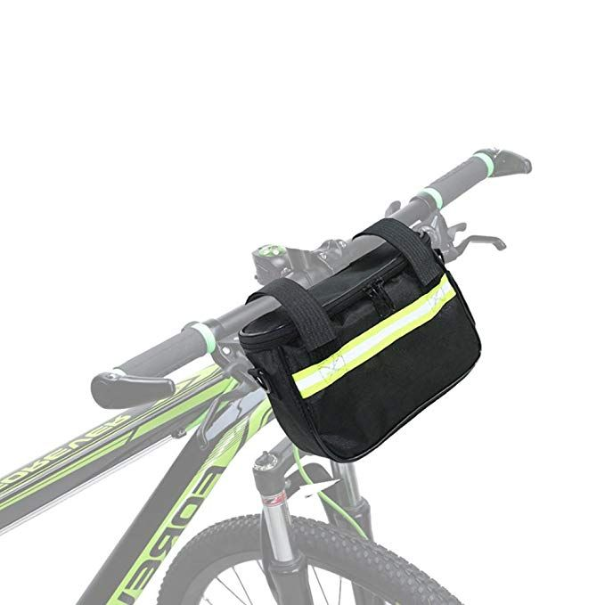 Meanhoo Bike Handlebar Bags Quick Release Cycling Bicycle Front