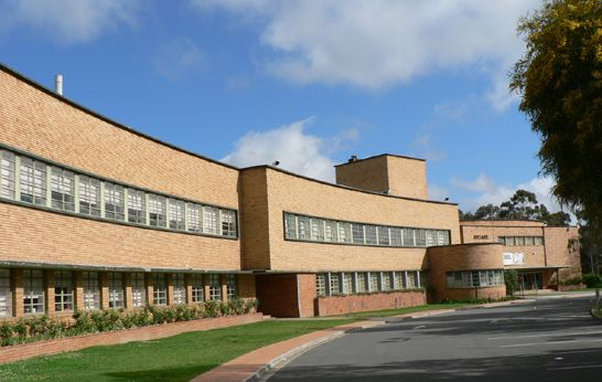 Adelaide High School © David Thompson ~ Art Deco Buildings Blog