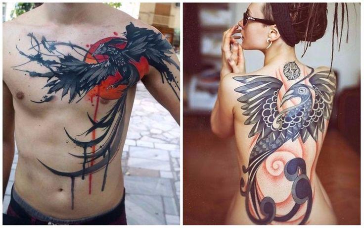 Tatuaggi con la fenice: cosa significano e idee per un tatuaggio originale 28