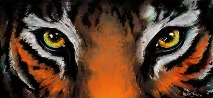 tigers eyes painting - Google Search