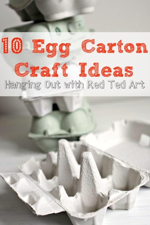 234 best images about glorious junk on pinterest diy for How to recycle egg cartons