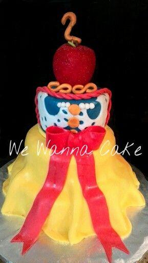 Blanca nieves cake