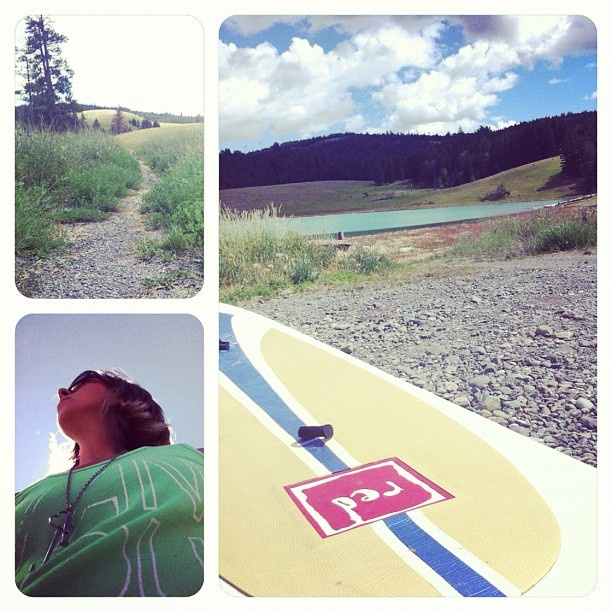 Exploring with our Red Paddle Co. boards!