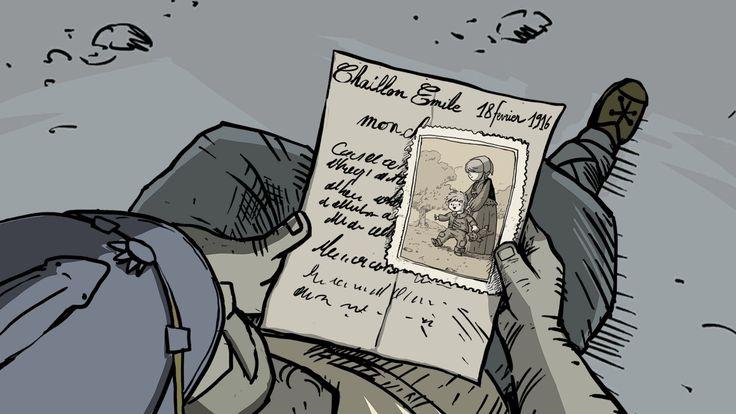Скриншот из игры Valiant hearts:The great war