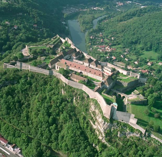 La citadelle de Besancon, France