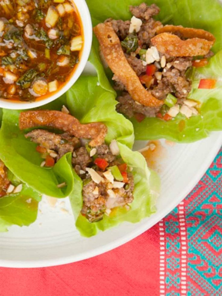 Thai food is fresh and colorful, and a balance of sour, sweet, salty, and umami flavors that create bright bursts of flavor on your palate! Follow this Beef Larb with Crunchy Wonton Skins and Thai Sweet and Sour Sauce to see for yourself! http://www.joyofkosher.com/recipes/beef-larb-with-crunchy-wonton-skins-and-thai-sweet-and-sour-sauce/