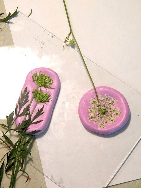 Art Jewelry Elements: Mini Tutorial ~ Wildflower Molds for Bead Making