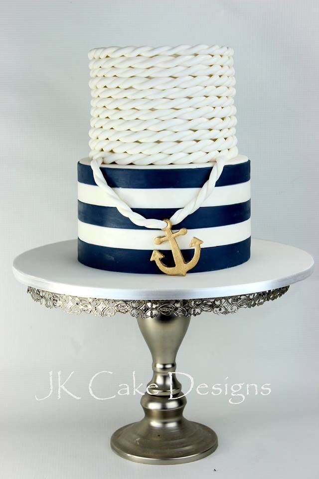 Nautical birthday cake                                                                                                                                                     More