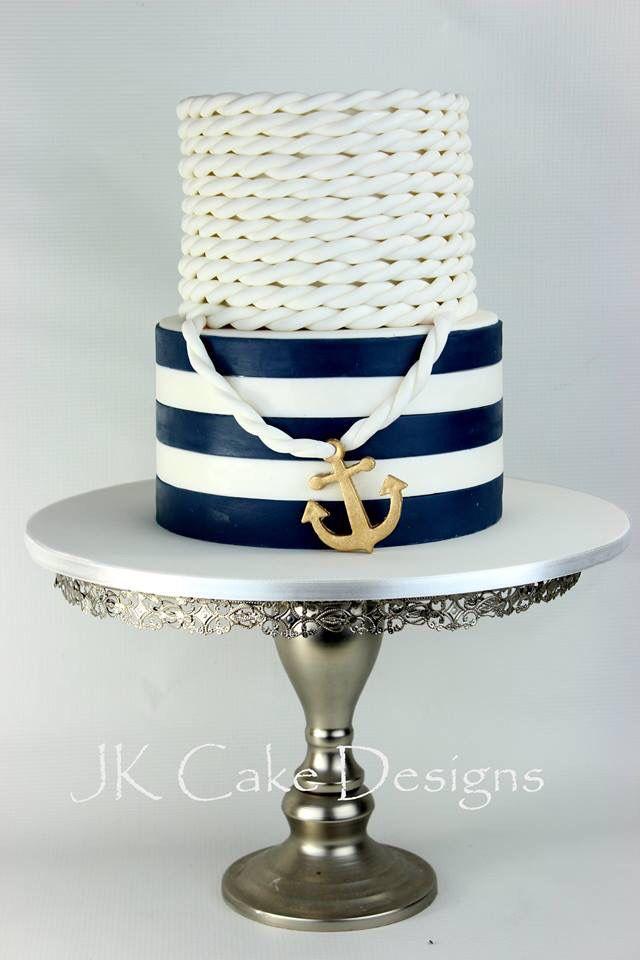 Nautical Birthday Cake JK Cake Designs Nautical