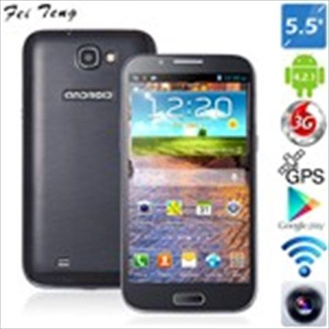 "(FEITENG) H7189 5.5"" Capacitive Touch MTK6589 4-Core Android 4.2.1 3G Phone+ GPS+ 8MP CAM (1GB RAM + 4GB ROM)"