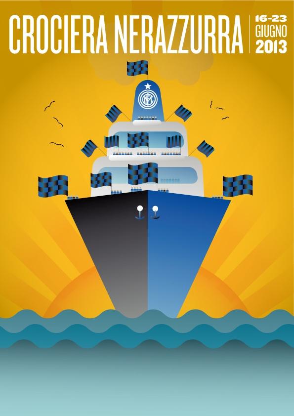 """ネラッズーロ・クルーズ 2013年6月16日〜23日    ロイヤルカリビアンの豪華客船""""Navigator of the Seas""""で行く、インテルファン専用の地中海クルーズを満喫しよう!"""