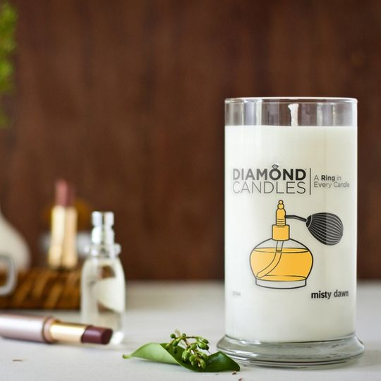 Live life to its fullest.Rings Candles, Christmas Gift Ideas, Desiretruelov Diamondcandl, Diamond Candles, Misty Dawn, Diamonds Candles, Dawn Candles, Soy Candles, Dawn Rings