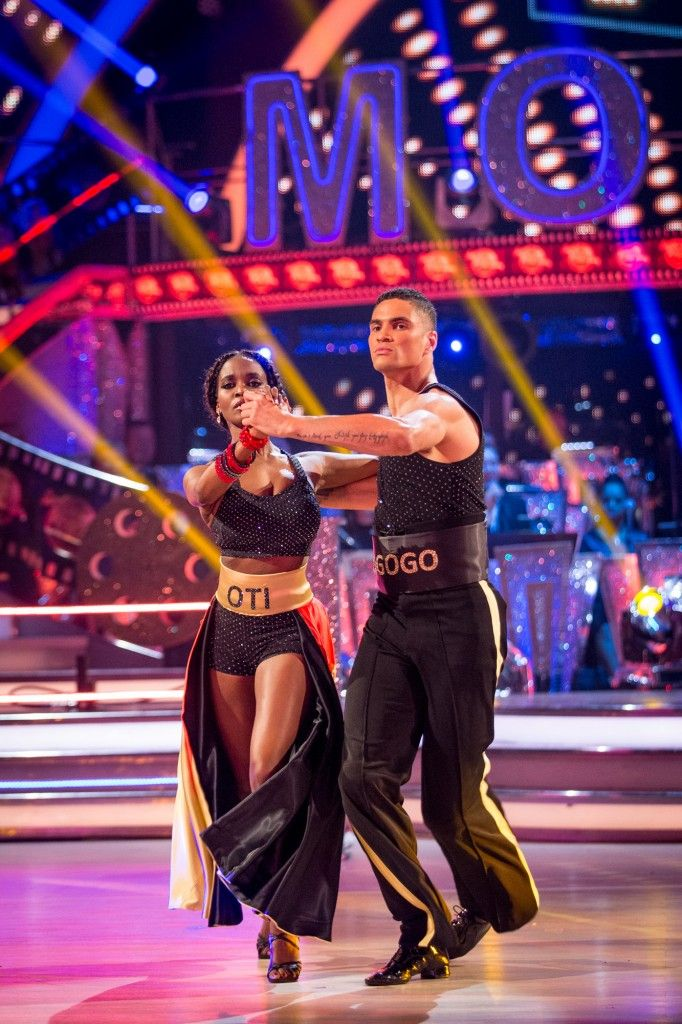 Strictly Come Dancing 2015 - Anthony and Otile - Week 3