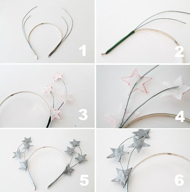 I love flower crowns , they're awesome, but sometimes you just need a sultry version- bring on the star crown! As I shared on Monday , ...