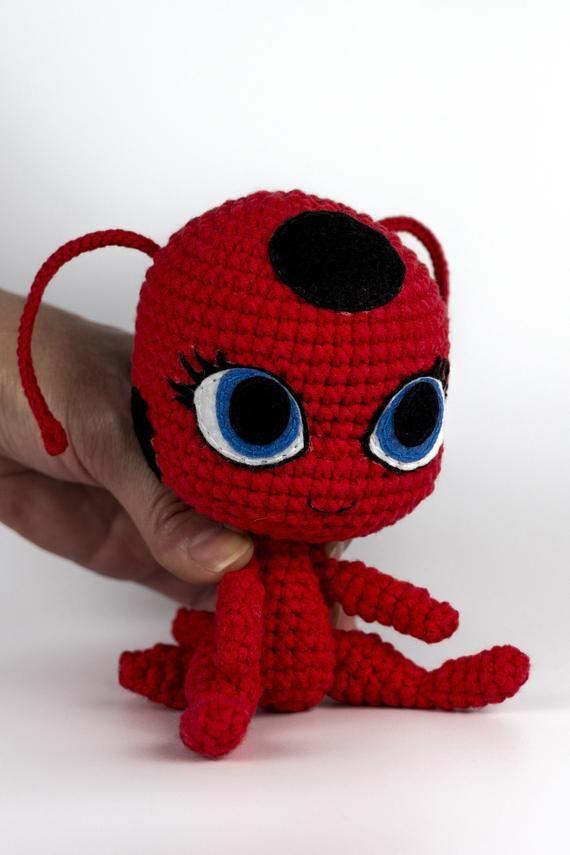 miraculous ladybug kwamis kwamis Miraculous ladybug doll crochet doll pattern amigurumi Duusu kwami miraculous ladybug pattern