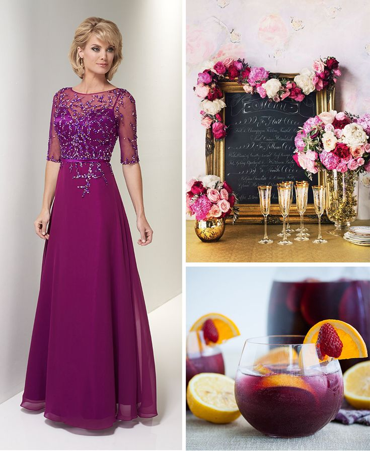 Unique Wedding Dresses With Color: 49 Best Images About Mother Of The Bride Gowns On