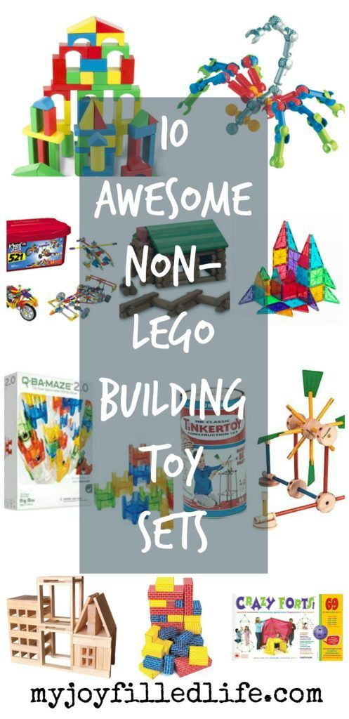 10 Awesome Non-LEGO Building Toy Sets