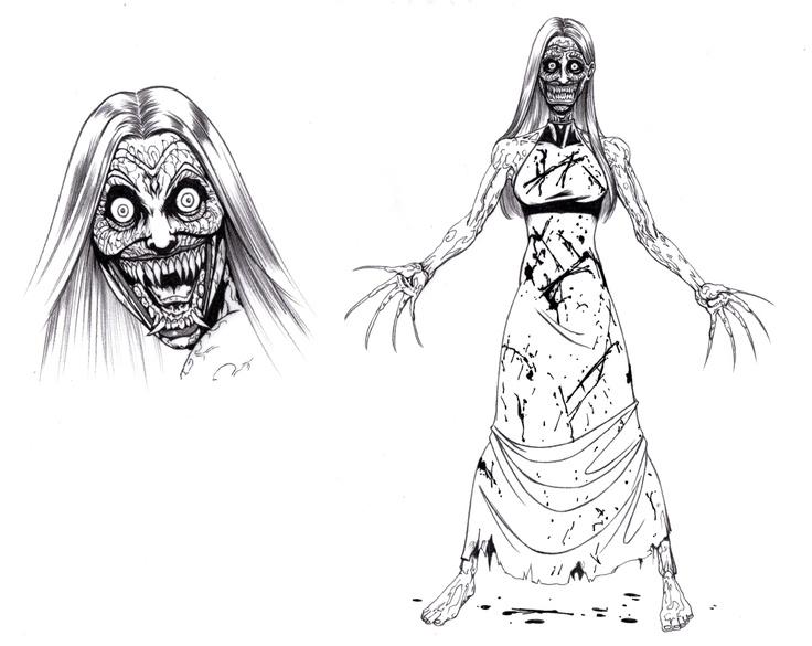 Lorro (aka Anais) female vampire after transformation