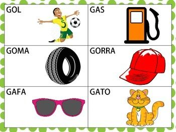 Words That Start With Letter G In Spanish