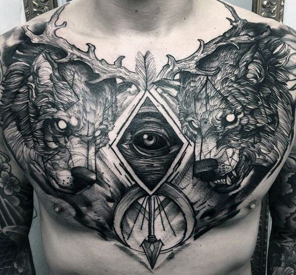 Best 25+ Male chest tattoos ideas on Pinterest | Male chest, Chest ...