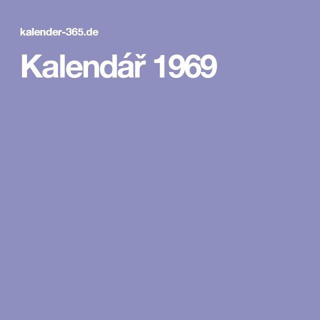 Kalendář 1969