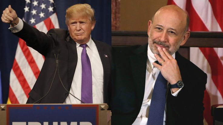 Goldman CEO Lloyd Blankfein jabs Trump for immigration remark