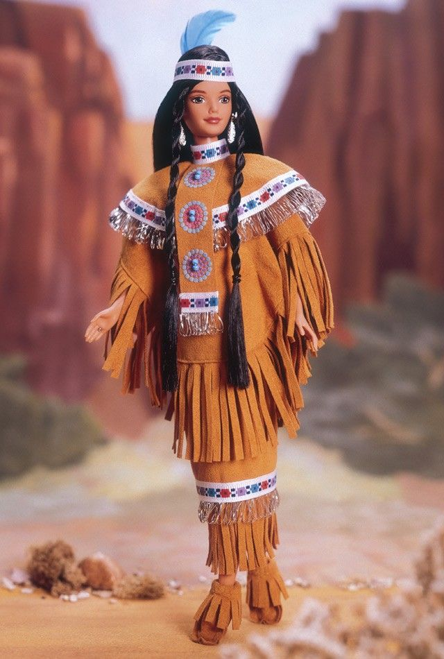 Native American Barbie® Doll 4th Edition... I have her in my collection. She is beautiful.