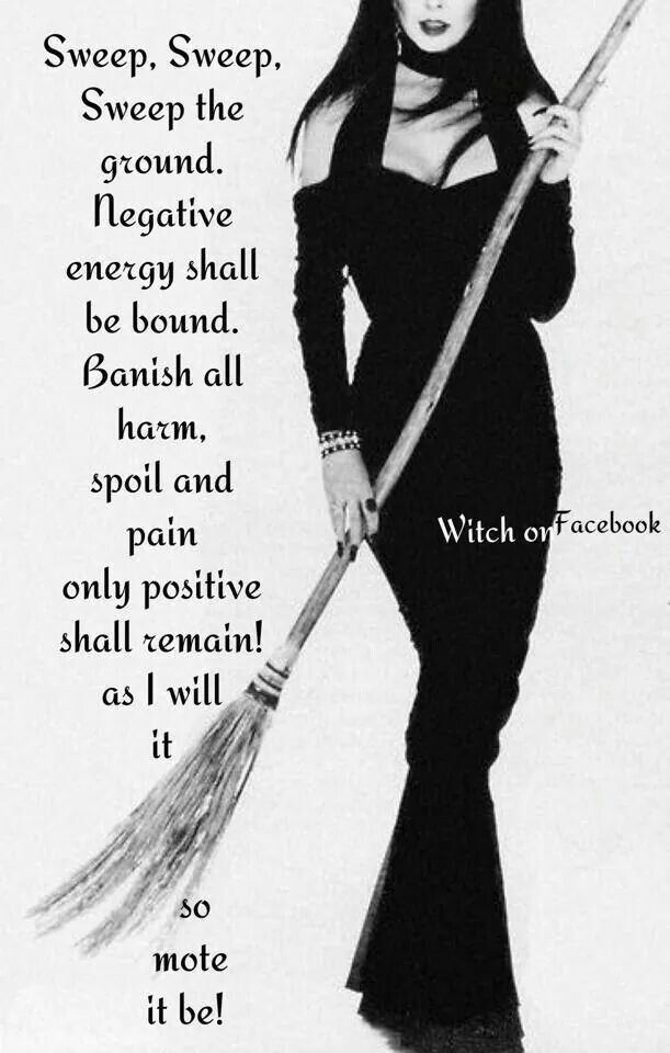 Sweeping Negativity - Pinned by The Mystic's Emporium on Etsy