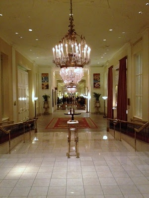 I love a dramatic #chandelier! The #Mayflower hotel, DC