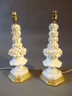 A Pair of Casa Pupo Lamps Mid 20th C