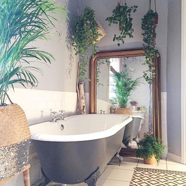 So happy it's Wednesday and it's time for you to snoop round another totally gorge house, look at that bathroom! (Link in bio)Thank you @deecampling for sharing with us . #interior #urbanjungle #boho #bobo #bohemian #danish #rustic #modernrustic #boheme #scandi #scandinavian #scandinave #nordic #industrial #plants #interiordesign #vintage #houseofinstagram #decor #nordic #boligliv #hygge #housetour #decor #eclectic #plantgang #plantgoals #bathroom #bathroomdecor #bathroomgoals