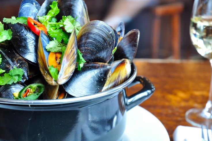 #Yummy muscles at Village Melbourne Brasserie