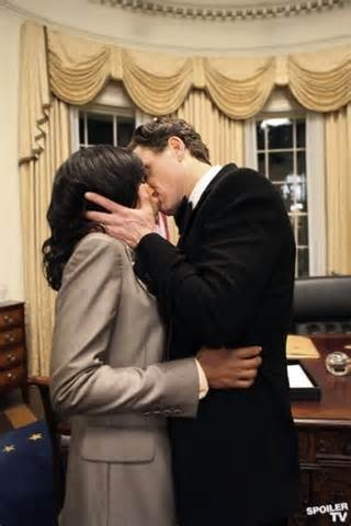 The oval office kiss.