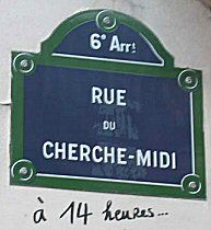 Creative Tonic- J'adore rue Cherchemidi - Paris 6e/15e... my favorite street!