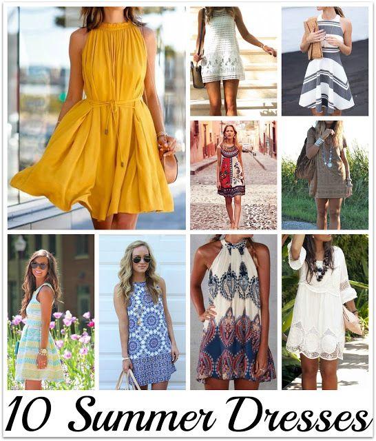Swanocean: It's Friday I'm in Love-Summer dresses