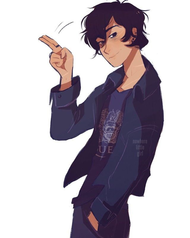 "Nico di Angelo ""Ci vediamo"" by nowhere-little-girl on Tumblr"