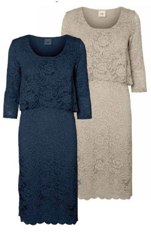 Mivane June 3/4 Sleeved Lace Nursing/Feeding Occasion Dress