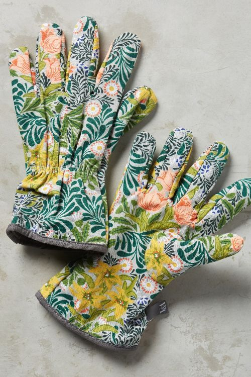 Floral Gardening Gloves - for the gardener